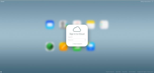 iCloud-login