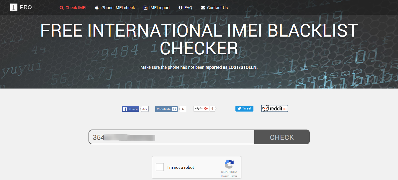 Check IMEI number - ESN - free checker IMEIpro.info 2016-03-08 12-41-05