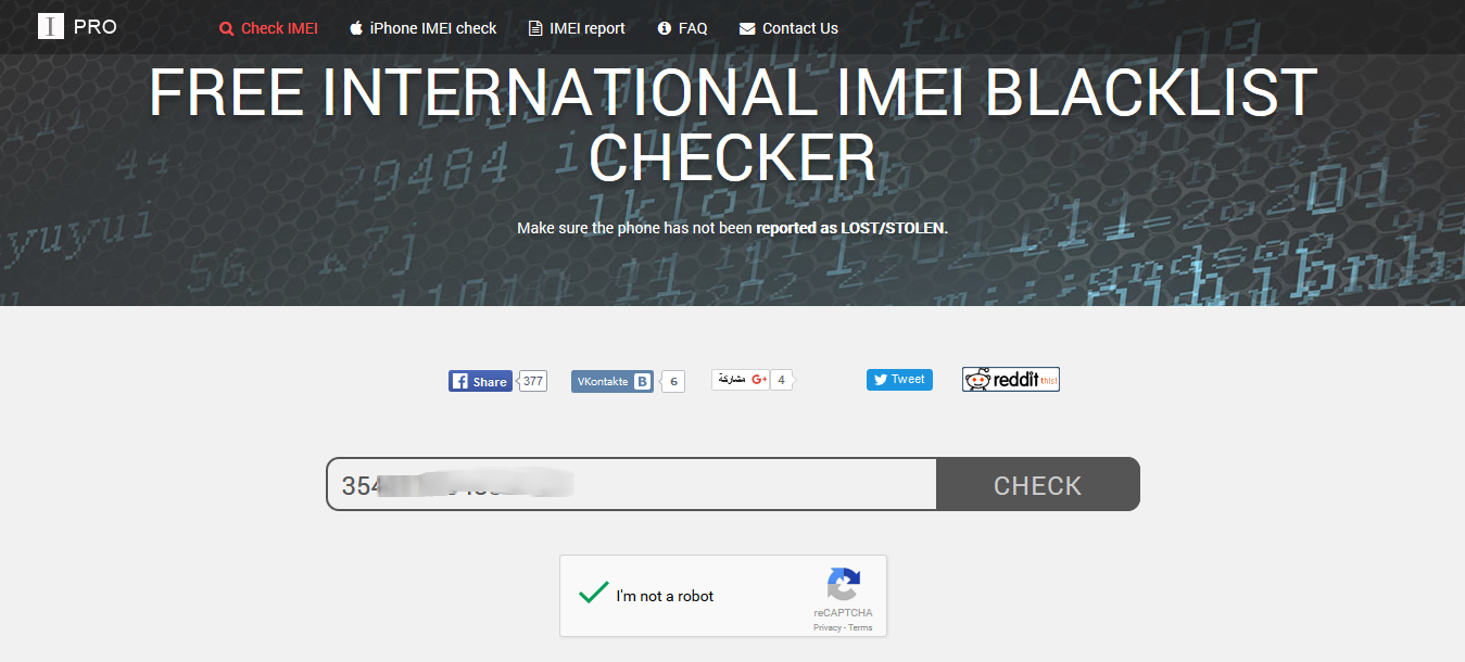 Check IMEI number - ESN - free checker IMEIpro.info 2016-03-08 12-41-41