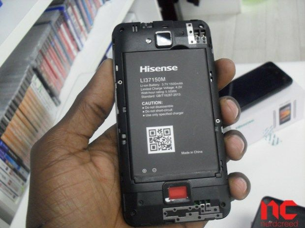 Hisense-U601-battery